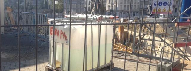 Brüssel Europaviertel; Foto: Christa Hämmerle, 27.10.2015