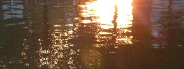 Morgensonne auf einer Gracht in Utrecht, Foto: Wolfgang Schmale, 15.9.2016