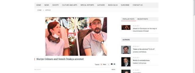 Screenshot http://www.agos.com.tr/en/article/18572/nuriye-gulmen-and-semih-ozakca-arrested