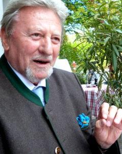 Professor Peter Heinrich von Wessenberg. Foto: privat
