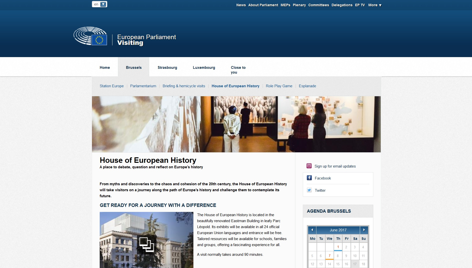 Screenshot House of European History: http://www.europarl.europa.eu/visiting/en/brussels/house-of-european-history