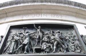 Menschenrechte Paris Place de la Republique