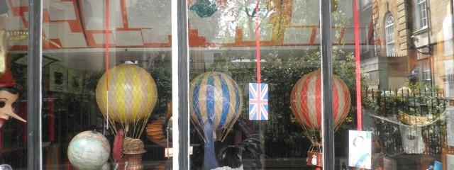 Schaufenster in Oxford, Foto: Wolfgang Schmale, 15.5.2011