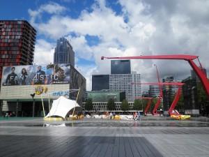 Rotterdam Architektur und Farbe, Foto: Wolfgang Schmale, 29.07.2015