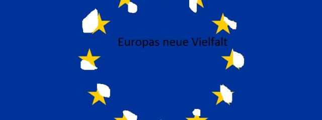 """Flag of Europe"" von User:Verdy p, User:-xfi-, User:Paddu, User:Nightstallion, User:Funakoshi, User:Jeltz, User:Dbenbenn, User:Zscout370 - File created by various Wikimedia users (see"