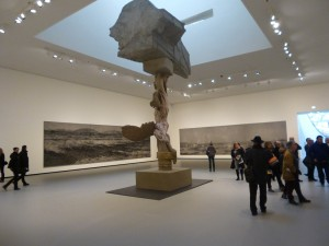 Panorama Bild, Xu Zhen, in der Fondation Louis Vuitton, Paris; Foto: Wolfgang Schmale, 6.2.2016