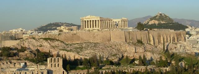 Athen Akropolis; Foto: Wolfgang Schmale, 30.1.2010