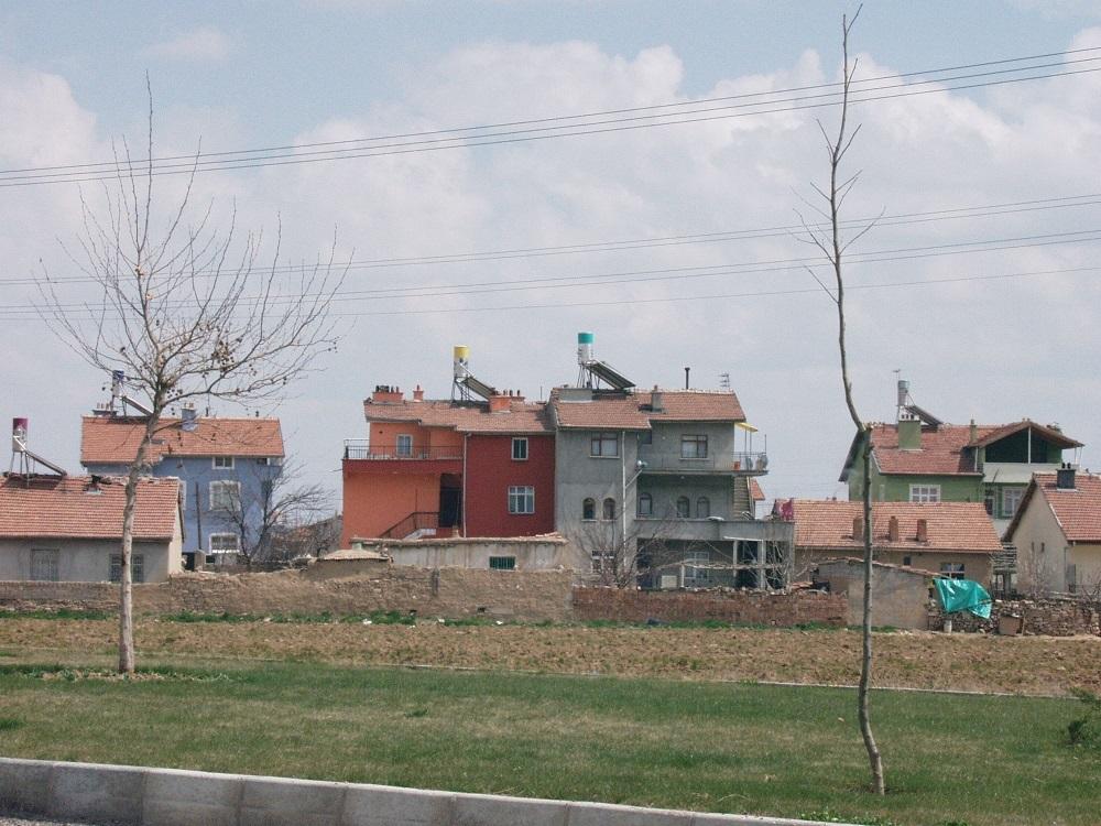 Auf dem Weg nach Konya; Foto: Wolfgang Schmale, 7.4.2007