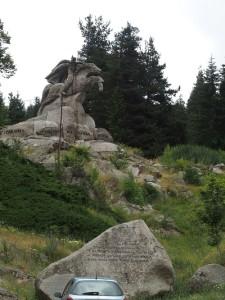 Denkmal für Georgi Benkovski in Koprivschtitsa, Bulgarien. Foto: Wolfgang Schmale