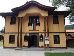 Haus der Lesegesellschaft Koprivschtitsa, Bulgarien. Foto: Wolfgang Schmale