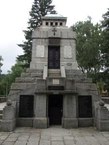 Mausoleum für die Helden des Aprilaufstandes 1876 in Koprivschtitsa. Foto: Wolfgang Schmale
