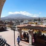 Arequipa Blick auf den Misti