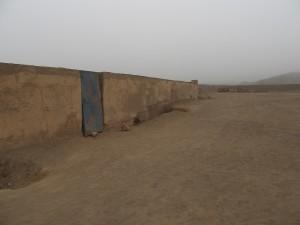Cajamarquilla Eingang zum Labyrinth