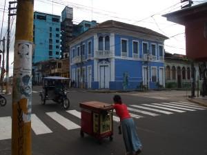 Straße in Iquitos