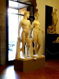 Adam und Eva von Bandinelli Museo del Bargello
