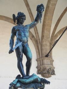 Cellini Perseus Loggia dei Lanzi