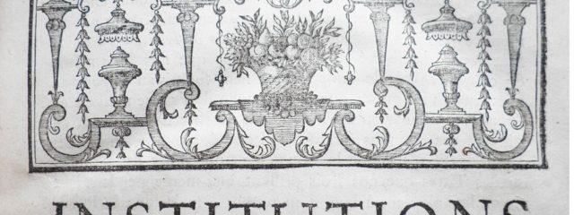 Französische Buchvignette 18. Jahrhundert