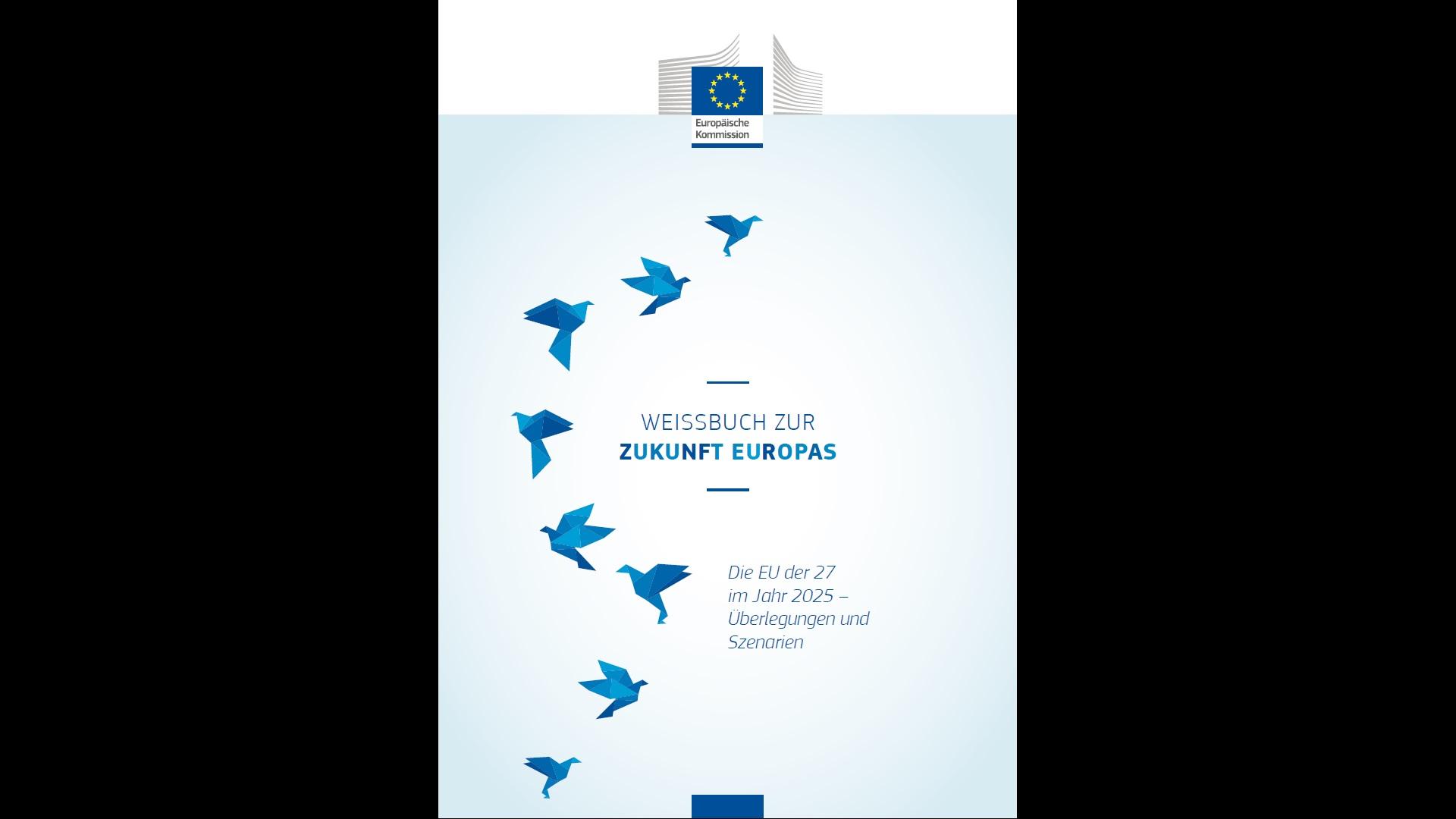 EU-Weissbuch 2017 Cover