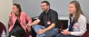 """Konfrontation zweier großer elsässischer Wortzauberer: Edgar Zeidler und Martin Graff (Autor von """"Der lutherische Urknall - Die Franzosen und die Deutschen"""")"""