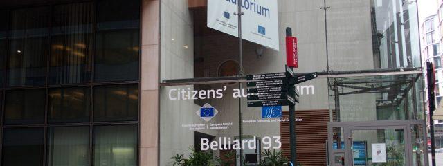Im Europa-Viertel von Brüssel
