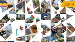 Screenshot der Startseite sharingheritage.de