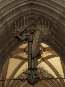 Ulmer Münster Erzengel Michael; Foto: Wolfgang Schmale