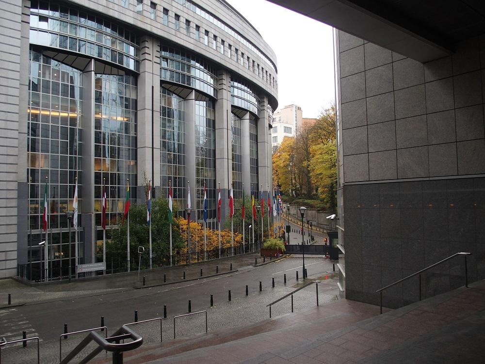 Brüssel, Europäisches Parlament; Foto: Wolfgang Schmale