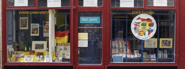 Vienne, Point Europe - Komitee Städtepartnerschaften; Foto: Wolfgang Schmale