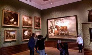 Im Mauritshuis, Den Haag; Foto: Wolfgang Schmale