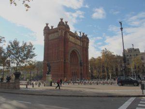 Barcelona Arc de Triomf; Foto: Wolfgang Schmale