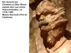 Mittelalterlicher Chewbacca; Foto: Wolfgang Schmale