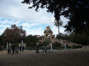 Barcelona Parc de la Ciutadella Font Monumental; Foto: Wolfgang Schmale