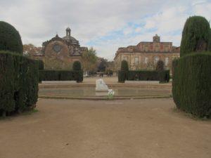 Barcelona Parc de la Ciutadella Kirche und Gouverneurspalast aus dem 18. Jh.; Foto: Wolfgang Schmale
