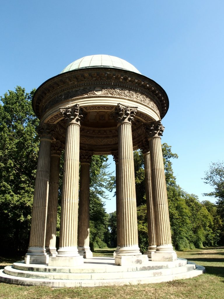 Concordia Tempel, Schlosspark Laxenburg; Foto: Wolfgang Schmale